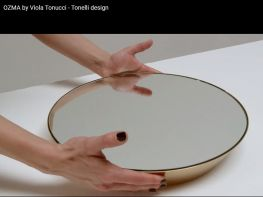 OZMA wall mirror for TonelliDesign